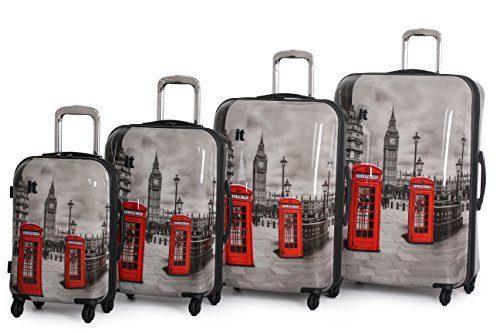 IT Luggage Samara Expandable Hard Shell Spinner Case Set
